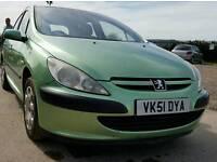 2001 Peugeot 307 HDI *122K* *6 Month Mot*