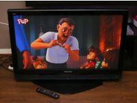 """Very nice PANASONIC 42"""" PLASMA TV, fully working."""