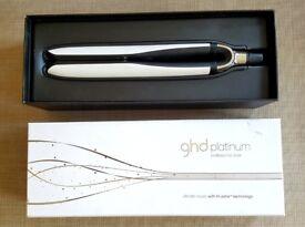 Ghd Platinum White Straighteners Box Red Light