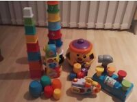 Bundle of baby toys in great condition.
