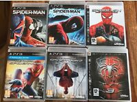 PS3 Spiderman game collection