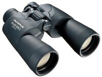 Olympus 118760 Trooper 10x50 DPS I Binoculars (Black) Almost New, Field 6.5, ideal for park or city