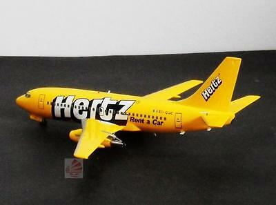 Ireland Ryanair Airlines Hertz Rent A Car Boeing B 737 1 200 Diecast Plane Dp005