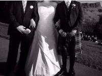 GORGEOUS JASMINE WEDDING DRESS, SIZE 22 (UK18)
