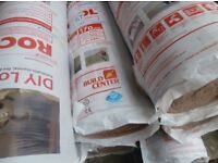 Rockwool DIY Loft Insulation - 8 rolls.