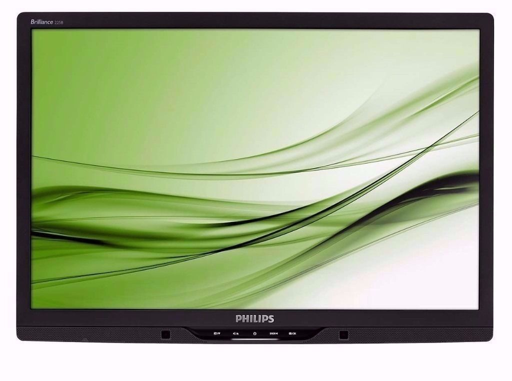 """Philips Brilliance 225B2 22"""" Widescreen TFT LCD Monitor with Built in Speakers 1680 x 1050in Harrow, LondonGumtree - Philips Brilliance 225B2 22"""" Widescreen TFT LCD Monitor with Built in Speakers Good working condition Please note the monitor does not come with the stand, its ideal for mounting The Philips Brilliance 225B2 22 inch widescreen monitor provides 1680..."""