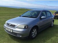 2005 / 05 Vauxhall Astra 1.4i Enjoy 5dr. Petrol, 5sp manual gearbox. Long MOT. £750 ono