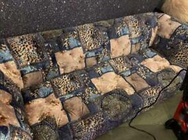 Chesterfield Patchwork Sofas Plus Velvet