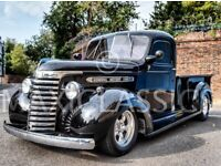 Stunning 1940 Chevy Pick Up Truck Restored Registered V8 350 Chevy Engine