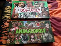 Dog-opoly and wildanimal-opoly