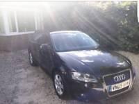Audi a3 black.