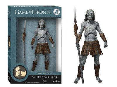 FUNKO Game of Thrones Legacy Collection WHITE WALKER #4 Series 1 ACTION FIGURE (White Walker)