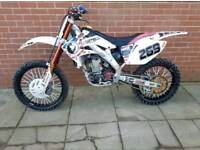 Honda crf 250 Twin Pipe / Fresh engine
