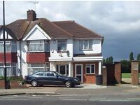 £900000 AN EXTENDED SEMI WITH 29 BY 13 FOOT THROUGH LOUNGE 9 BEDROOMS AND OPEN PLAN KITCHEN