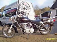 Suzuki Intruder VL125 LC Classic K6 2006 Sold With Warranty Few Extras Fitted VL 125