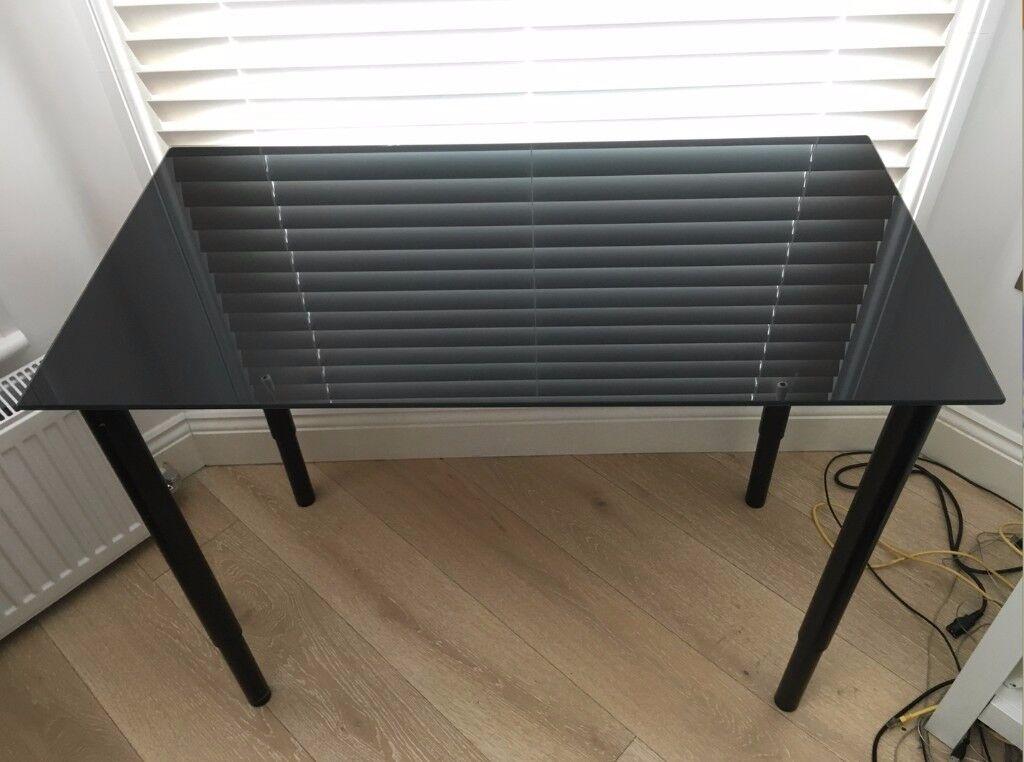 Adjustable desk ikea glasholm olov in cricklewood london