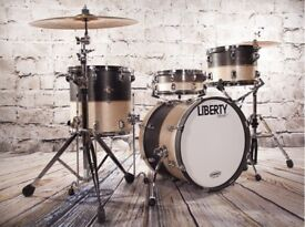 LIBERTY DRUMS - 2TONE JAZZ / BOB SERIES DRUM KITS