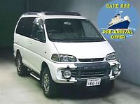 1996 Mitsubishi Delica 136K's 4WD CRYSTAL ROOF PRE-ARRIVAL OFFER