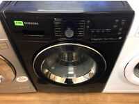 SAMSUNG Air Refresh, Black 7/5kg Quiet Drive WASHER DRYER + 3 Months Guarantee + FREE LOCAL DELIVERY