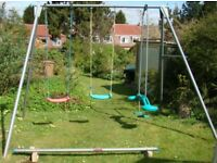 Childrens Garden Swing