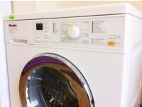 MIELE Honeycomb Care W3204 - White + Chrome , 1300 WASHER + 3 Months Guarantee + FREE LOCAL DELIVERY