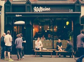 Kaffeine - Leading Australian Independent Cafe- Experienced Service Person