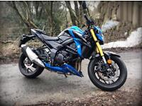 Suzuki GSX-S750 ABS Naked Motorbike - less than 100 miles from new!