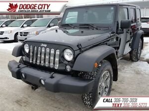 2014 Jeep WRANGLER UNLIMITED Sport | 4x4 | PST PAID