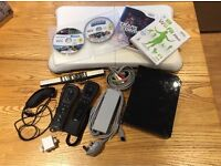 Boxed Nintendo Wii console With Wii Fit