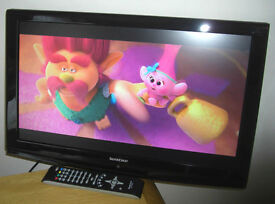 """Silvercrest 22"""" Full HD LCD TV & Freeview USB 2.0 DVB-T VGA Immaculate Condition"""