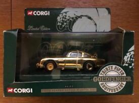Limited gold plated corgi James Bond 35 anniversary Aston Martin db5