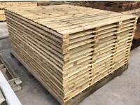 🦔 Various Styles Of Tanalised High Quality Wooden Garden Fence Panels