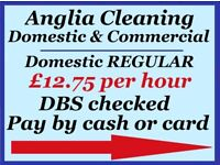Anglia Cleaning Services } Domestic Cleaning / House Cleaner / Moving in / out cleaning