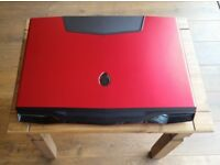 Alienware M18xR2 Nebula Red with Dell Warranty