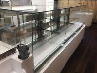 x2 Koolteck Commercial Fridge Display Counters