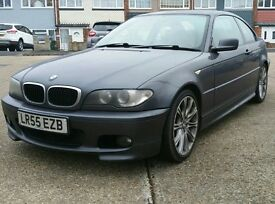 BMW 320CD M SPORT AUTOMATIC TIPTRONIC HEATED LEATHERS '55' REG FACELIFT FBMWSH PX (330D 320D 318D)