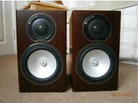 Monitor Audio RX1 Speakers Walnut Boxed