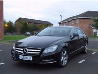 Mercedes-Benz CLS 350 Black - Automatic - 2011 - 52K mileage - Perfect Condition!