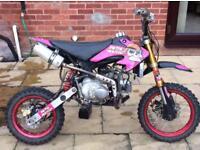125cc stomp pitbike pit bike like Dt yz cr rs Ktm rm etc