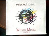 WORLD MUSIC 10 CD BOX NEW