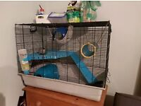 Savic Freddy 2 Rat/Ferret cage with accessories for sale - £40 ONO