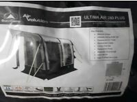 Sunncamp Ultima Air 280 plus inflatable caravan porch awning