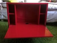 IKEA fold down wall desk