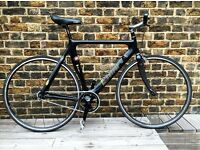 KESTREL CARBON FIBRE SINGLE SPEED FIXED GEAR BICYCLE