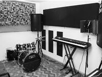 24/7 Recording Studio in Stratford £180 per day(inc mixing)