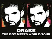 Drake - Seated tickets x2 London O2 Mon 30 Jan