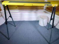 Folding Metal Leg Saw Horse/ Bench
