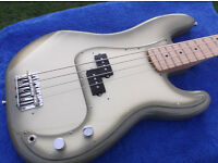 Fender Precision Antigua bass guitar, Factory Special Run, 2012. Rarely available.