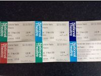 Tickets for Pinocchio at the National Theatre, London