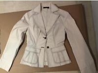 Light beige trouser suit